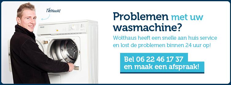 Problemen met uw wasmachine?